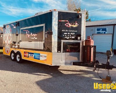 2016 8.5' x 20' Head-Turning Mobile Kitchen Food Concession Trailer