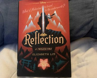 Reflection A Twisted Tale hardcover book by Elizabeth Lim
