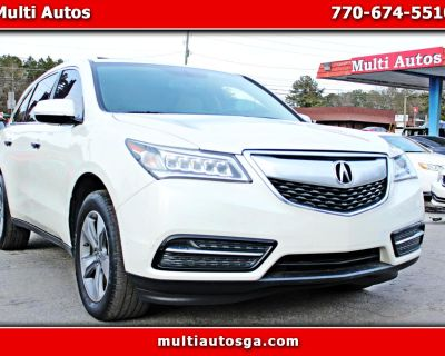 Used 2014 Acura MDX 6-Spd AT