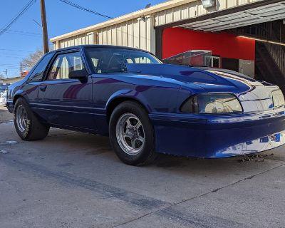 1989 Ford Fox Mustang drag car