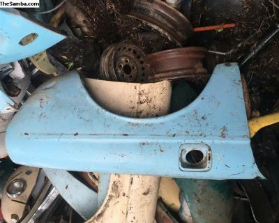 Front fender 1970 - 73 type 3 right and left