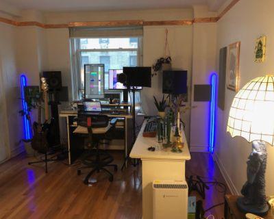 Uptown Recording Studio by Riverside Park, New York, NY