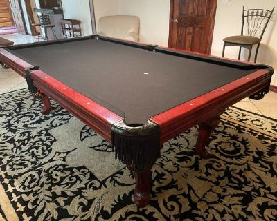 PREMIER ROSWELL ESTATE SALE - POOL TABLE, WORKOUT, ANTIQUES, HI-END CLOTHES!