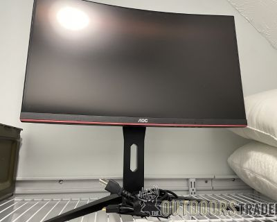 FS/FT AOC 24in curved monitor!