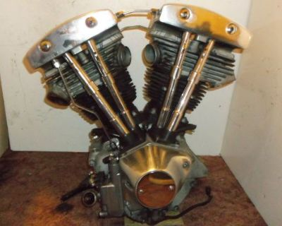 1982 Harley Davidson Flt Tour Glide Shovelhead Engine Motor Complete