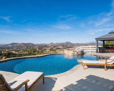 Best View in Temecula | Infinity Pool, Spa & Outdoor Kitchen | Billiards Room - Temecula