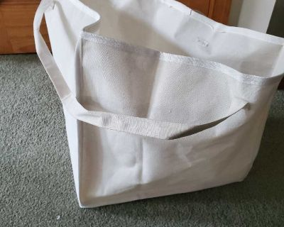 NEW (opened never used) Hanger Storage Bag with Handles for Space Saving and Easier Storage in Closets