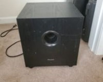 pioneer home theater subwoofer