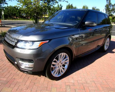 Used 2016 Land Rover Range Rover Sport DIESEL**HSE*HEATED-VENTED SEATS*DRIVER ASSIST*