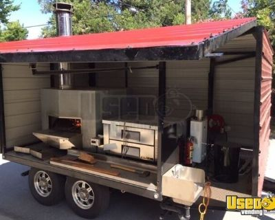 2014 - 8' x 14' Wood-Fired Pizza Concession Trailer / Mobile Pizzeria