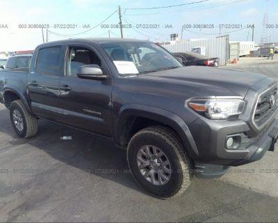 Salvage Gray 2016 Toyota Tacoma