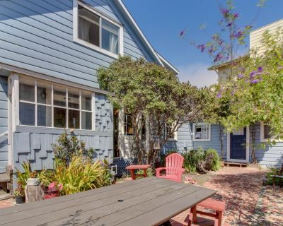 Historic home & carriage house in the heart of Cayucos - walk to town, beach! - Cayucos