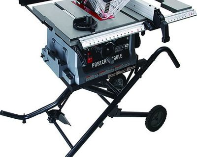 Porter Cable 10 Inch Jobsite Table Saw