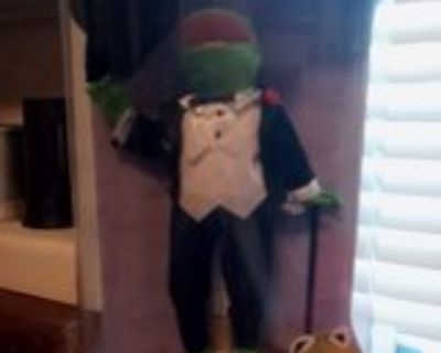 25th Anniversary Kermit the Frog Muppets Porcelain Doll