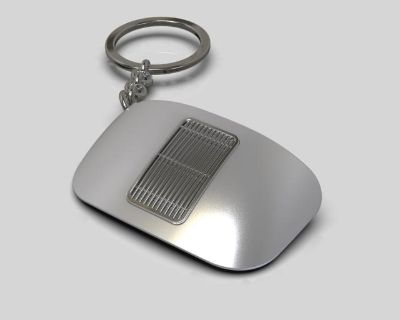 356 decklid keychain