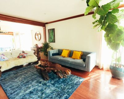 Sunny Boho Home with a Detached Photography Studio and Prop House, Los Angeles, CA