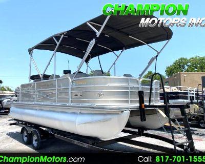 Used 2017 SouthBay 200 Fishing Pontoon Boat w/Yamaha 115hp 4S