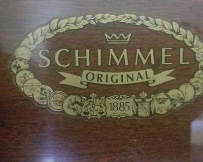 Rare Schimmel Model C112 Empire Upright Piano