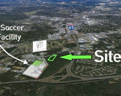 4.12 Acres For Sale off Halls Mill Rd and I-65