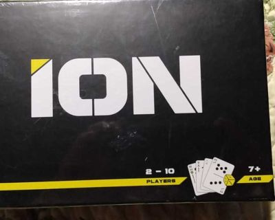 CARD AND DICE GAME NEW ION