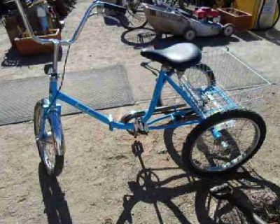$350 3-Wheel Folding Bicycle