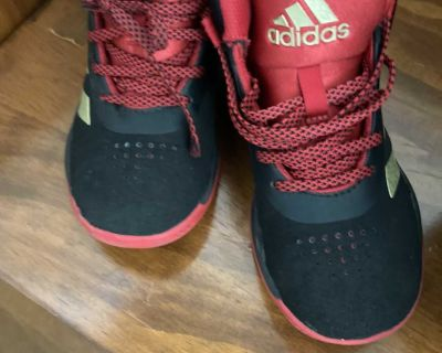 Youth size 1 adidas running shoes