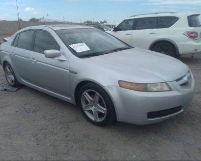 Salvage Silver 2005 Acura Tl