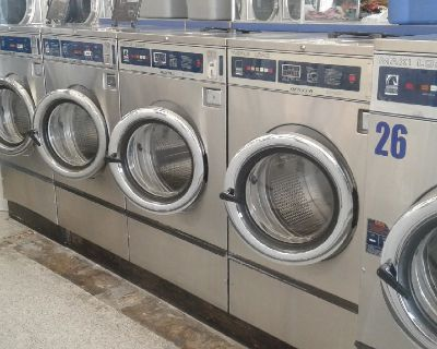 Dexter Triple Load T400 Front Load Washer 220 3PH Stainless Steel Used