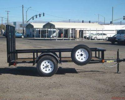 12ft Single Axle Utility Trailer, Big Tex Trailer 30SA-12