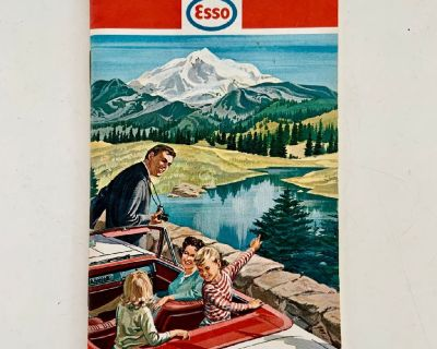 1967 Esso Touring Guide Booklet Vintage Travel Guide