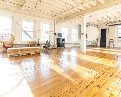 Huge, flexible, and beautiful Allston photography studio, Allston, MA