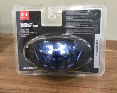 Under Armour Chin Strap- Blue