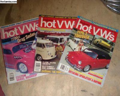 Various Hot VW's Vintage