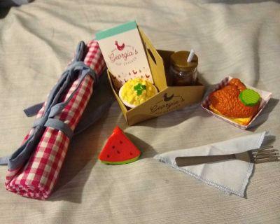 American Girl Doll Tenney's Picnic Set