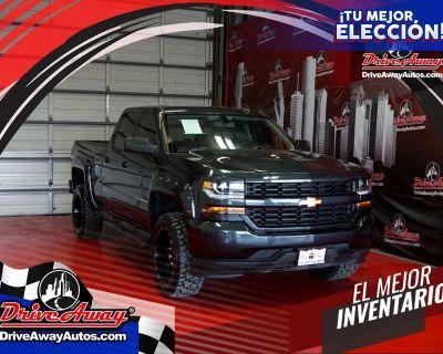 "2018 Chevrolet Silverado 1500 2WD Double Cab 143.5"" LT w/1LT"