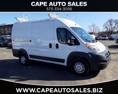 2016 RAM Promaster 2500 High Roof Tradesman 136-in. WB