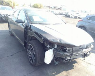Salvage Gray 2020 Lincoln Mkz