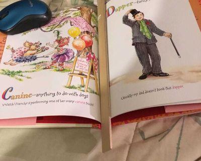Fancy Nancy s Favorite Fancy Words Book (Hardcover) & 14 doll combo