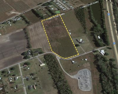 +/- 12.32 Acres of Land for Sale in Breaux Bridge