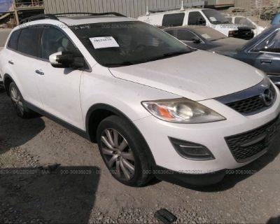 Salvage White 2010 Mazda Cx-9