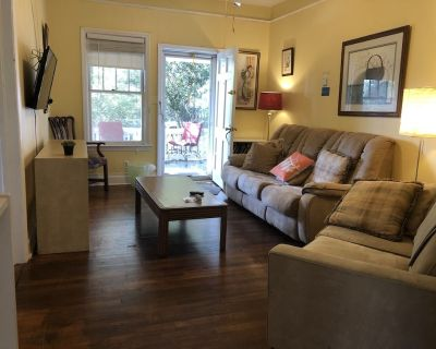 Sunny! 1918 House, private apt, Claire, Candler Park, high ceilings, hardwoods - Lake Claire