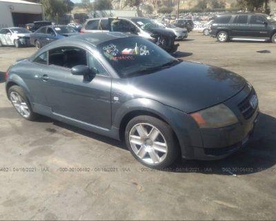 Salvage Gray 2004 Audi Tt