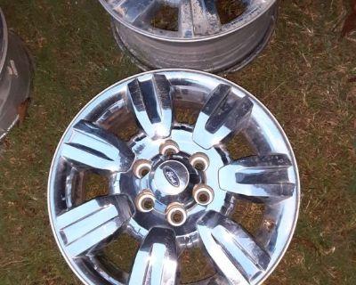 Set of 18 inch wheels. 6lug