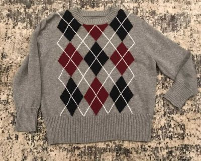 XS, Sweater-Grey, Navy, Red