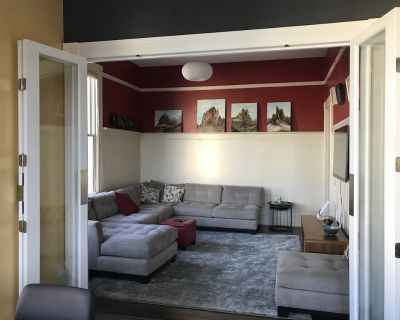 2 bed small office 1 bath Top floor Mission Flat with yard & parking - Inner Mission