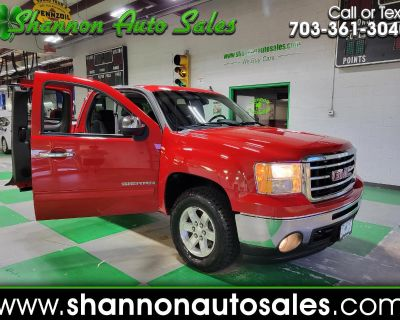 Used 2013 GMC Sierra 1500 SLE Ext Cab 6.6-ft. Bed 4WD