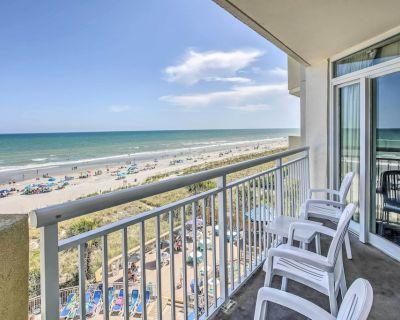 New! Bay Watch Resort Condo w/ Oceanfront Balcony! - Crescent Beach