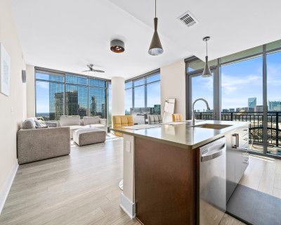 Private Top Floor Glass Penthouse, Atlanta, GA