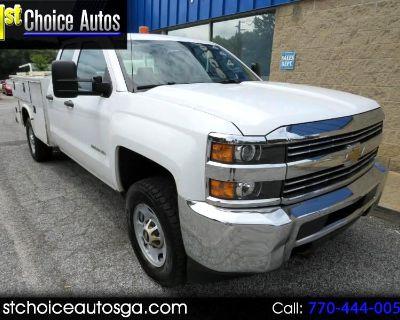 "Used 2015 Chevrolet Silverado 2500HD 2WD Double Cab 158.1"" Work Truck"