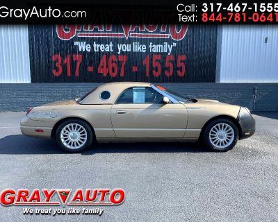 2005 Ford Thunderbird 2dr Convertible Deluxe